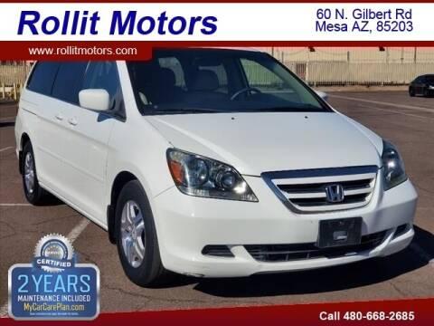 2007 Honda Odyssey for sale at Rollit Motors in Mesa AZ
