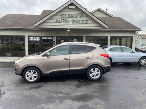 2011 Hyundai Tucson for sale at Clarks Auto Sales in Middletown OH