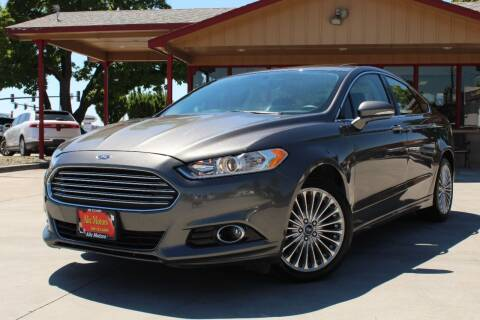 2016 Ford Fusion for sale at ALIC MOTORS in Boise ID