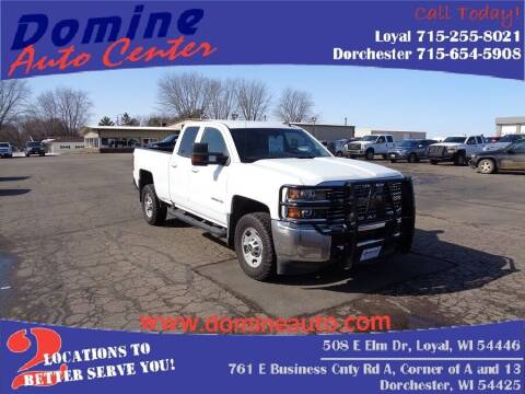 2017 Chevrolet Silverado 2500HD for sale at Domine Auto Center in Loyal WI