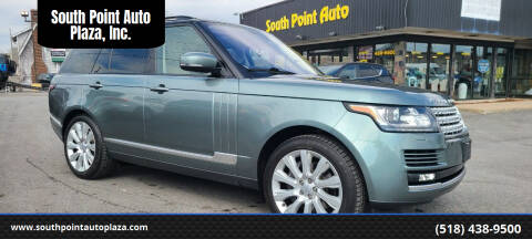 2016 Land Rover Range Rover for sale at South Point Auto Plaza, Inc. in Albany NY