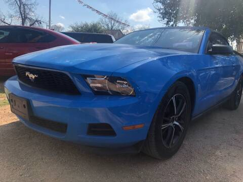 2012 Ford Mustang for sale at S & J Auto Group in San Antonio TX