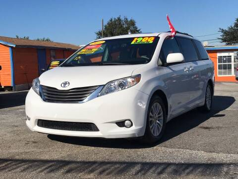 2012 Toyota Sienna for sale at GP Auto Connection Group in Haines City FL