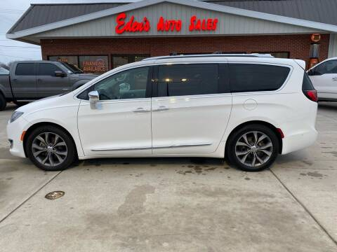 2017 Chrysler Pacifica for sale at Eden's Auto Sales in Valley Center KS