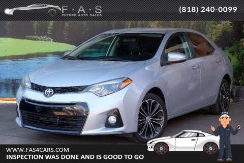 2014 Toyota Corolla for sale at Best Car Buy in Glendale CA