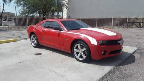 2010 Chevrolet Camaro for sale at CAMEL MOTORS in Tucson AZ