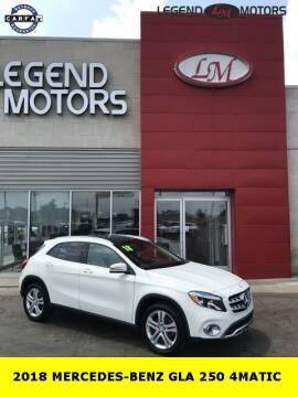 2018 Mercedes-Benz GLA for sale at Legend Motors of Waterford - Legend Motors of Ferndale in Ferndale MI