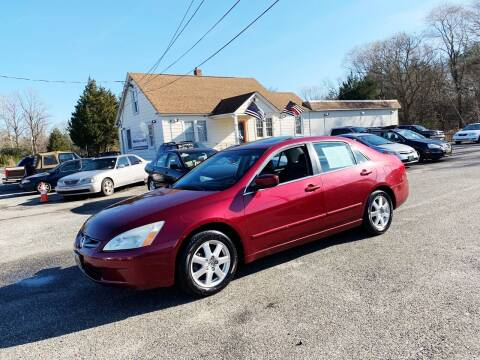 2005 Honda Accord for sale at New Wave Auto of Vineland in Vineland NJ