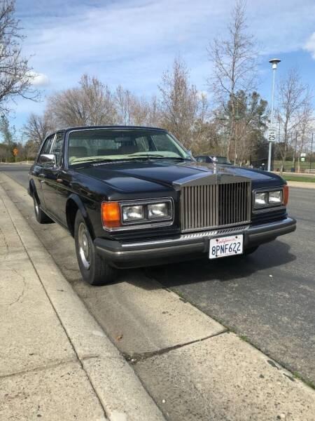 1983 Rolls-Royce Silver Shadow for sale at Steven Pope in Auburn CA