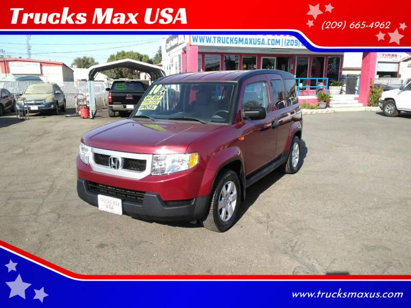 2010 Honda Element for sale at Trucks Max USA in Manteca CA