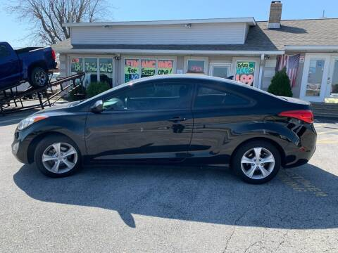2013 Hyundai Elantra Coupe for sale at Revolution Motors LLC in Wentzville MO