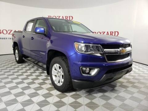 2017 Chevrolet Colorado for sale at BOZARD FORD in Saint Augustine FL