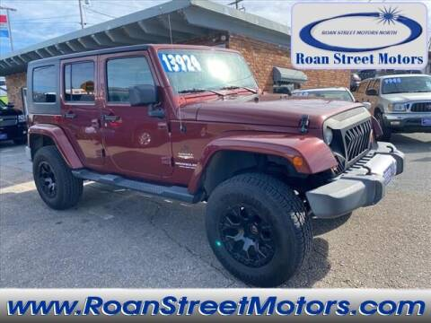 2008 Jeep Wrangler Unlimited for sale at PARKWAY AUTO SALES OF BRISTOL - Roan Street Motors in Johnson City TN