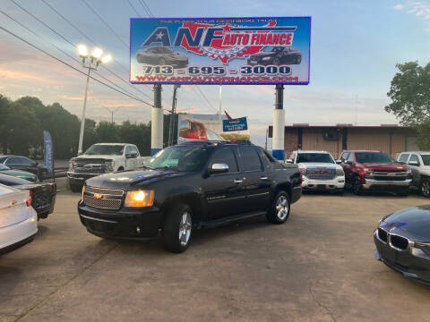 2008 Chevrolet Avalanche for sale at ANF AUTO FINANCE in Houston TX