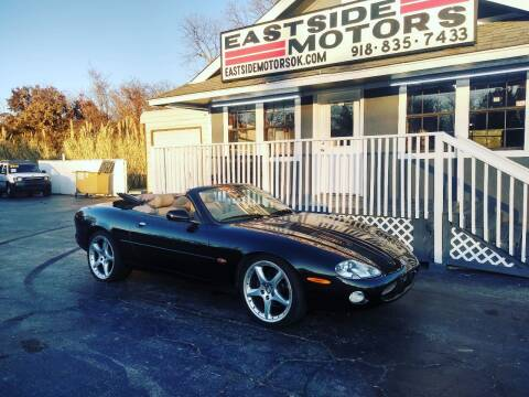 2001 Jaguar XKR for sale at EASTSIDE MOTORS in Tulsa OK