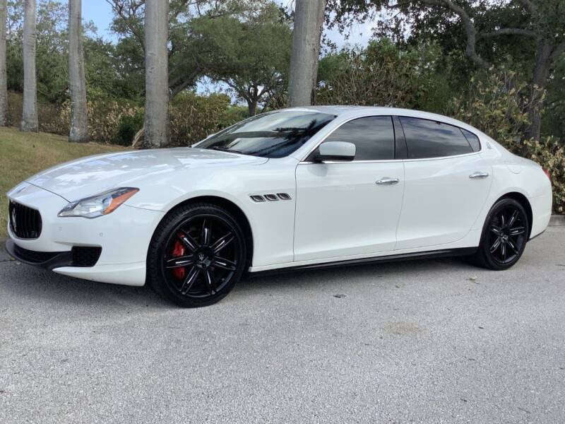 2014 Maserati Quattroporte for sale at Sailfish Auto Group in Hollywood FL