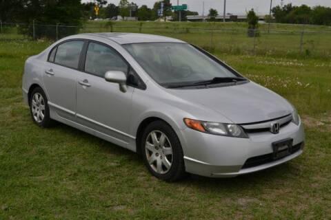 2007 Honda Civic for sale at WOODLAKE MOTORS in Conroe TX