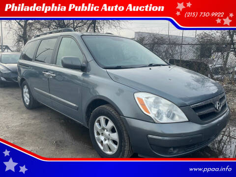 2007 Hyundai Entourage for sale at Philadelphia Public Auto Auction in Philadelphia PA