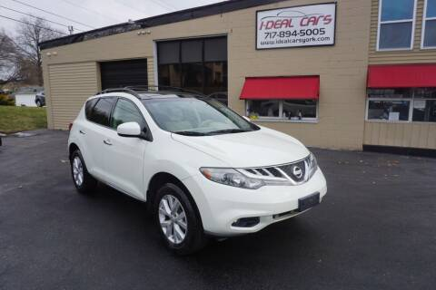 2011 Nissan Murano for sale at I-Deal Cars LLC in York PA