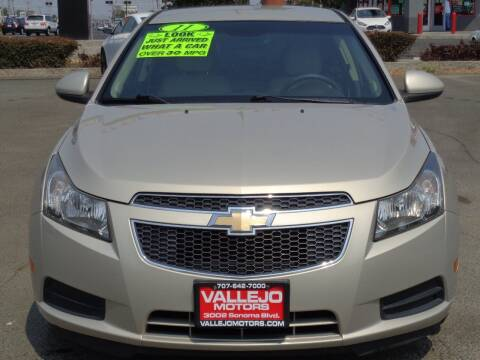 2011 Chevrolet Cruze for sale at Vallejo Motors in Vallejo CA