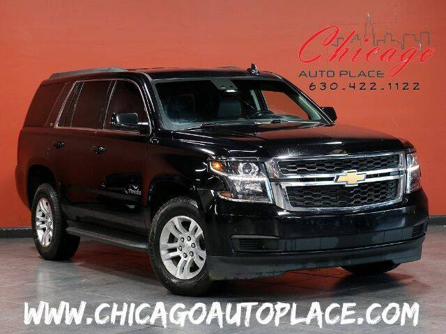 2015 Chevrolet Tahoe for sale at Chicago Auto Place in Bensenville IL