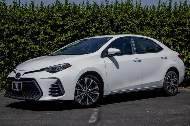 2017 Toyota Corolla for sale at 605 Auto  Inc. in Bellflower CA