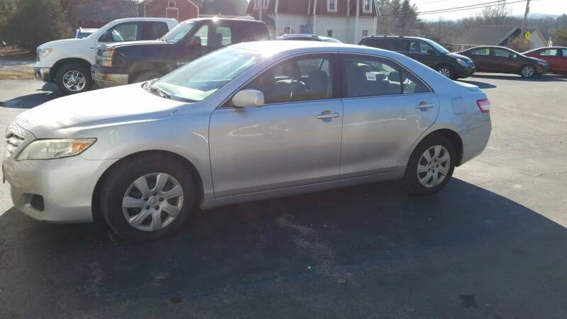 2010 Toyota Camry for sale at CURTIS AUTO SALES in Pittsford VT