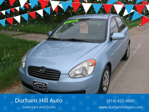 2008 Hyundai Accent for sale at Durham Hill Auto in Muskego WI