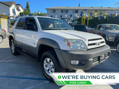2003 Toyota 4Runner for sale at FJ Auto Sales North Hollywood in North Hollywood CA