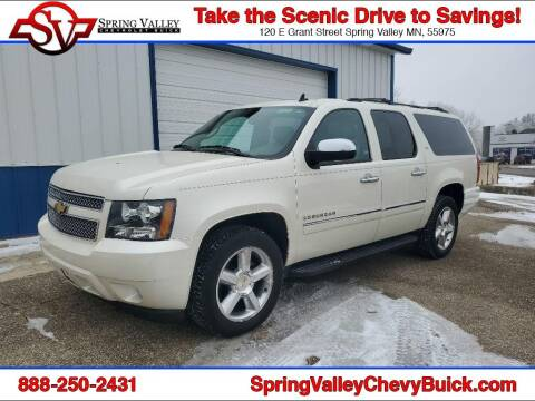 2014 Chevrolet Suburban for sale at Spring Valley Chevrolet Buick in Spring Valley MN