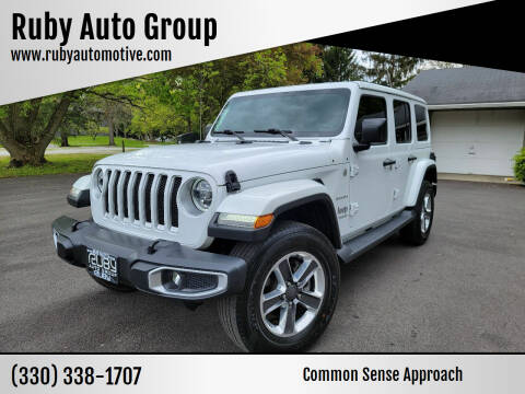 2018 Jeep Wrangler Unlimited for sale at Ruby Auto Group in Hudson OH