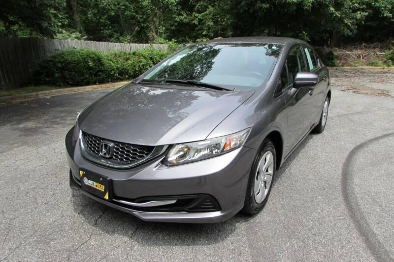 2014 Honda Civic for sale at AUTO FOCUS in Greensboro NC