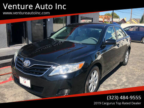 2011 Toyota Camry for sale at Venture Auto Inc in South Gate CA
