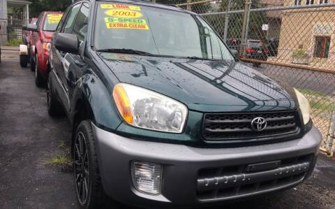 2003 Toyota RAV4 for sale at Jeff Auto Sales INC in Chicago IL