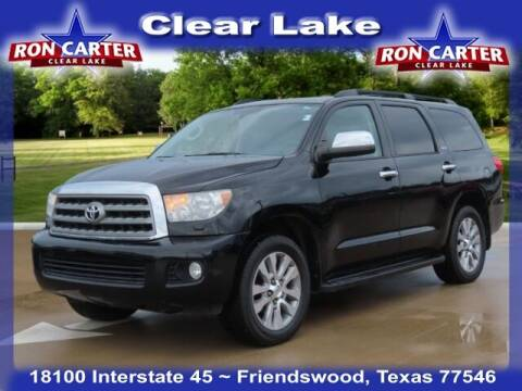 2015 Toyota Sequoia for sale at Ron Carter  Clear Lake Used Cars in Houston TX