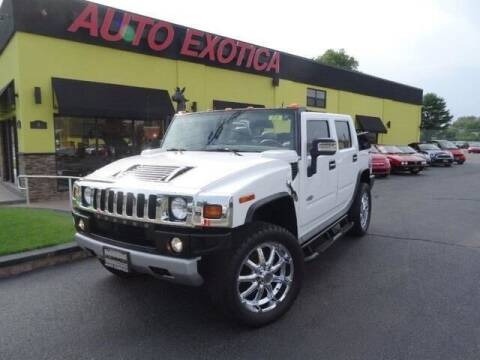 2008 HUMMER H2 for sale at Auto Exotica in Red Bank NJ