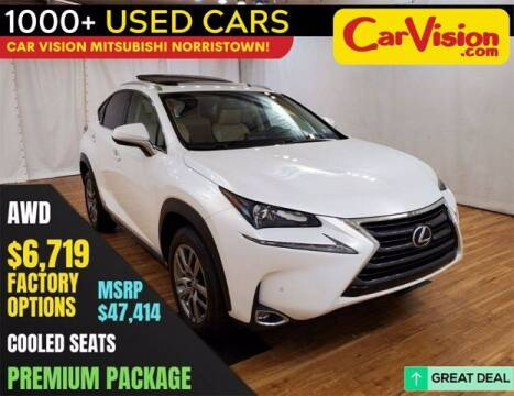 2016 Lexus NX 300h for sale at Car Vision Buying Center in Norristown PA