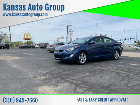 2016 Hyundai Elantra for sale at Kansas Auto Group in Wichita KS