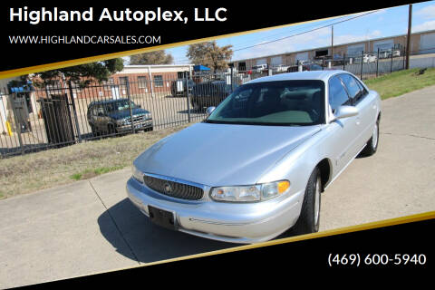 2001 Buick Century for sale at Highland Autoplex, LLC in Dallas TX