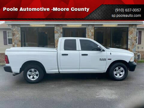 2014 RAM Ram Pickup 1500 for sale at Poole Automotive in Laurinburg NC