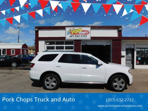 2014 Dodge Durango for sale at Pork Chops Truck and Auto in Cheyenne WY