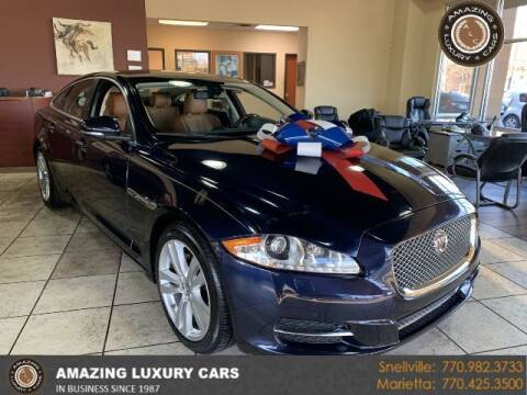 2015 Jaguar XJ for sale at Amazing Luxury Cars in Snellville GA