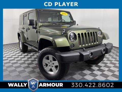 2007 Jeep Wrangler Unlimited for sale at Wally Armour Chrysler Dodge Jeep Ram in Alliance OH