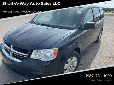 2013 Dodge Grand Caravan for sale at Strait-A-Way Auto Sales LLC in Gaylord MI
