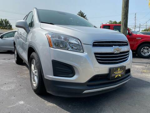2016 Chevrolet Trax for sale at Auto Exchange in The Plains OH