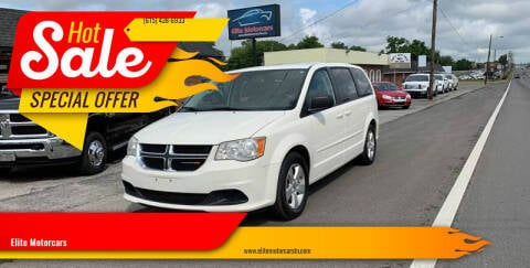 2013 Dodge Grand Caravan for sale at Elite Motorcars in Smyrna TN
