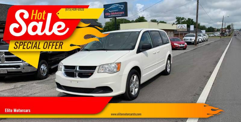 2013 Dodge Grand Caravan for sale at Elite Motorcars in Smyrna TN