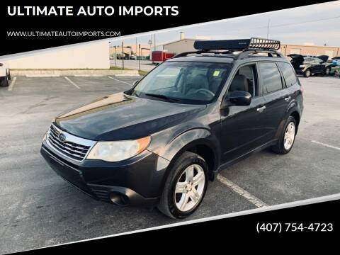 2010 Subaru Forester for sale at ULTIMATE AUTO IMPORTS in Longwood FL