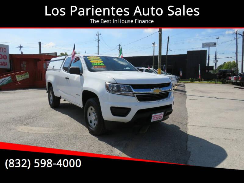 2017 Chevrolet Colorado for sale at Los Parientes Auto Sales in Houston TX