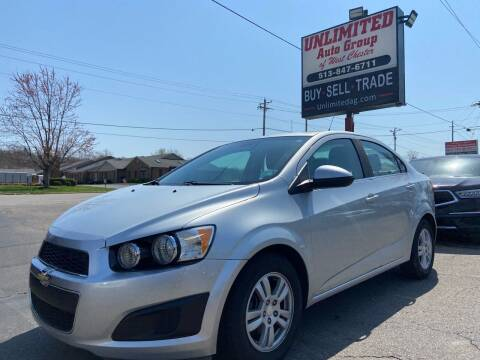 2012 Chevrolet Sonic for sale at Unlimited Auto Group in West Chester OH